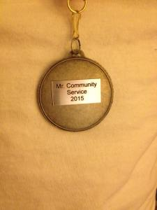 2015 Community Service Award